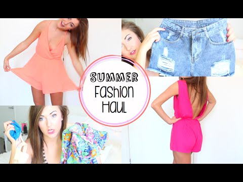❤ HUGE Summer Fashion Haul ❤ Try On Haul