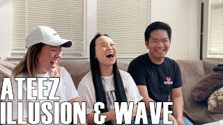 ATEEZ (에이티즈)- Illusion & Wave (Reaction Video)
