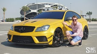 This is the ANGRIEST C63 AMG Black Series!