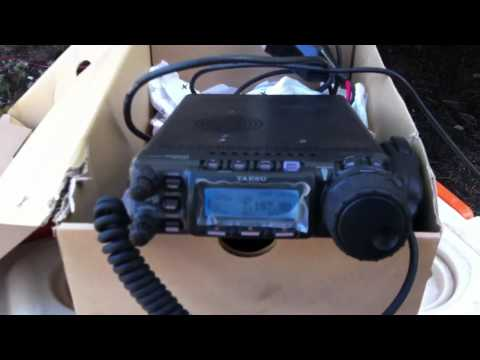 Ham radio setup camping