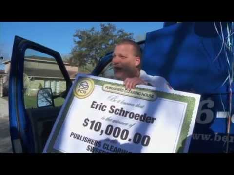 Eric Schroeder Publishers Clearing House Winner