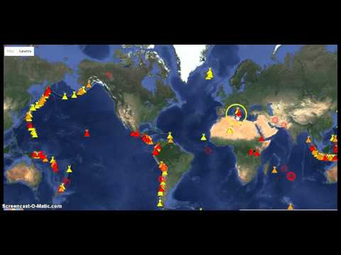 NEW Weekly World Volcano report 22nd Oct.