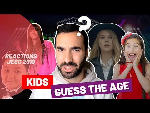 Reaction: Ages of the Participants! (Junior Eurovision 2019)
