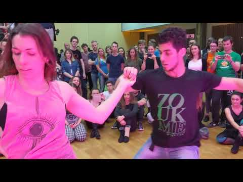 WZF2019: Gaelle & Hugo in Saturday afternoon class demo-2 ~ Zouk Soul