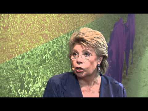 EU-Kommissarin Viviane Reding kritisiert Deutschland