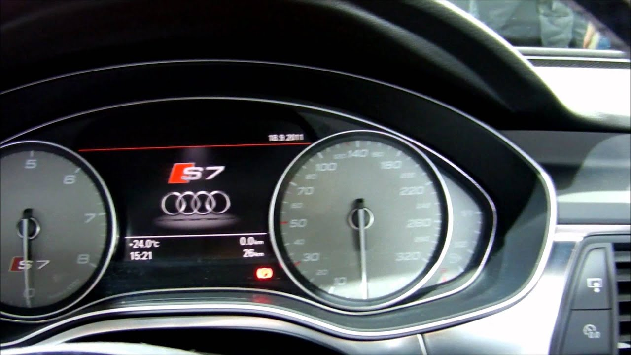 New 2012 Audi S7 V8 Bi Turbo In Detail 1080p Full Hd