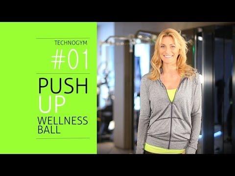 Push Up su Wellness Ball | Technogym Session #1 – Runfederun