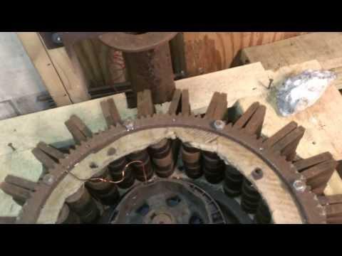 The truth about Ed Leedskalnin's magnetic flywheel