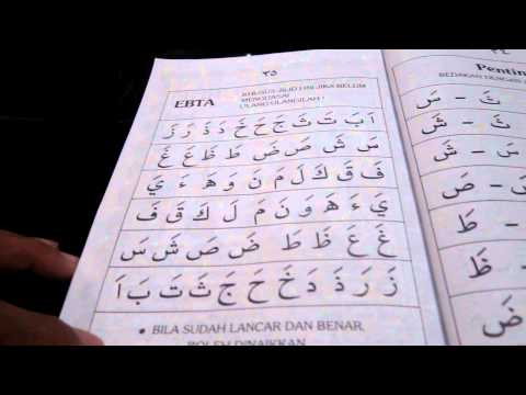 Cara Cepat Belajar Al-quran Buku Iqra 1 Mukasurat 30-31 video