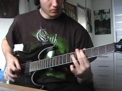 Opeth - In Mist She Was Standing Cover (part I)