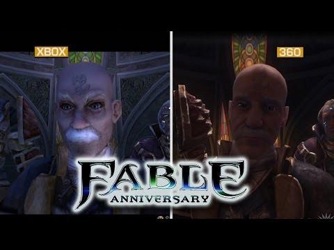 Fable Anniversary Graphics Comparison Fable Anniversary Graphics