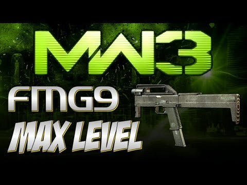 MW3 Online - Max Level - FMG9 - GUN FOR SCRIBS!