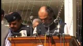 CM Baluchistan Nawab Aslam Khan Raisani -- (YAROO MUJHKO MAAF KARNA MAIN NASHAI MAIN HUN)