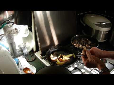 Картофель жареный в мундире (мелочь) видео рецепты от бабки (Борисовны)