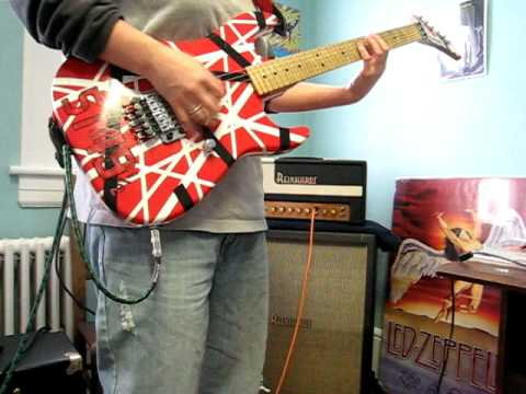 Demo Of Dweezil Zappa's Old 5149 1/2 Shamer Guitar