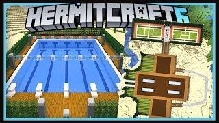 Hermitcraft Season 6: Secret Head Vault & Country Club Amenities! (Minecraft 1.13.2  Ep.45)