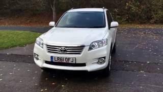 2011 61 TOYOTA RAV4 2.2 XT-R D-CAT 5d AUTO 150 BHP LEATHER FSH