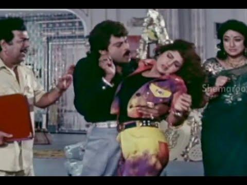 Alluda Majaka Movie Scenes - Lakshmi Plans Ramba Marriage With Chiranjeevi - Ramya Krishna video