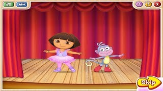 Dora the Explorer | Dora's Ballet Adventures | The big dance show game