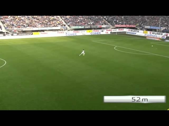 SC Paderborn-Hannover 96 2:0 - 83 Meter-Tor von Stoppelkamp