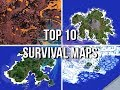 Jeracrafts Top 10 Survival Maps & Islands!