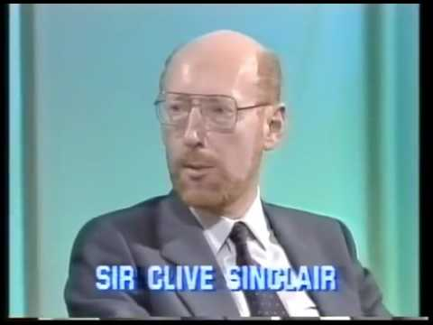 4 Computer Buffs - Sir Clive Sinclair - 1985
