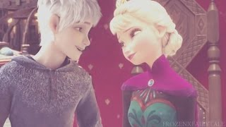 """I loved you all along"" { Jack Frost & Queen Elsa }"