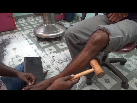 Leg and Foot Massage /How to Leg Pain Reliever Massage/CS ASMR Relaxing,