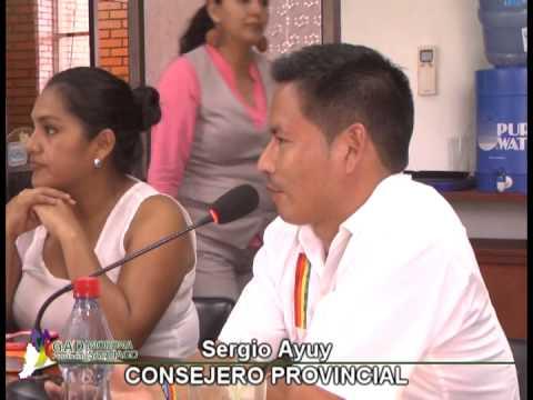 CONSEJEROS PROVINCIALES SOLICITAN A PREFECTURA COMPRA URGENTE DE MAQUINARIA