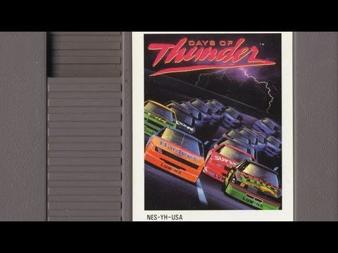 Clic Game Room Days Of Thunder Review For Nes