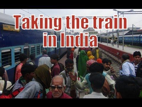India Train Ride High Speed Movie Indian Railways
