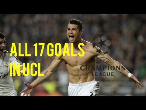 ► Cristiano Ronaldo All Goals 17 UEFA Champions League 2014 HD 720p