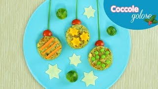 Finger Food Vegetali di Natale - Tutorial di Coccole Golose