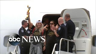 Women39s World Cup champions return to the US