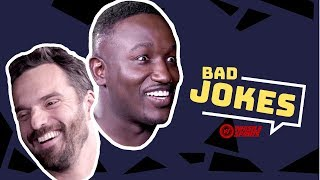 Hannibal Buress vs. Jake Johnson | Bad Joke Telling