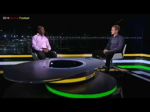 Germany Portugal 2014 BBC Analysis with Thomas Müller and Pepe