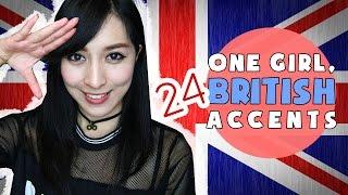 One Girl, 24 British Accents   Annchirisu