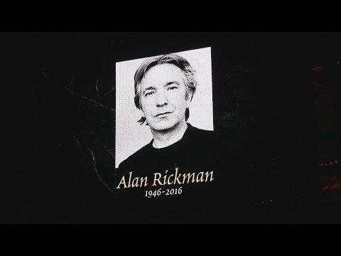 Potter cast remember Alan Rickman at A Celebration of Harry Potter