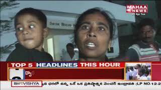 Public Catches Child Thief In Karimnagar