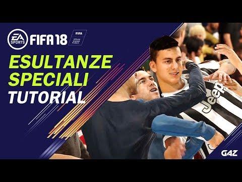 FIFA 18 TUTORIAL | COME ESULTARE CON IL PUBBLICO! NUOVE ESULTANZE SPECIALI! [NEW CELEBRATIONS]