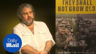 Director Peter Jackson on his new WW1 documentary film
