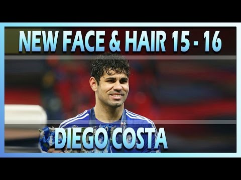 PES 2013 l NEW FACE & HAIR DIEGO COSTA 2015/2016