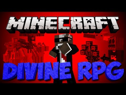 Minecraft: Divine RPG Lets Play   Ep. 22   The Vethea Dimension