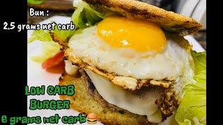 KETO BURGER BUN LOW CARB BEEF BURGER | KETO DIET PHILIPPINES WITH EASY RECIPES