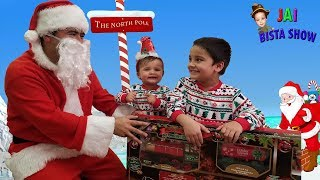 SANTA CLAUS CAME IN THE MAIL || Santa Claus Mailed himself  to deliver Christmas gift