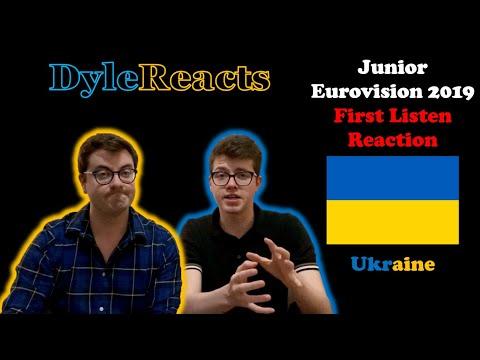 Junior Eurovision 2019 - Ukraine - REACTION #DyleReacts