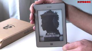 Recensione Amazon Kindle Touch (eng sub)
