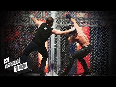 Hell-ish moments in Hell in a Cell: WWE Top 10, Oct. 22, 2016 thumbnail