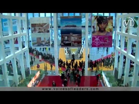 Voices of Leaders interviews Tourism Ministers and CEOs of emerging economies at ITB Berlin 2013