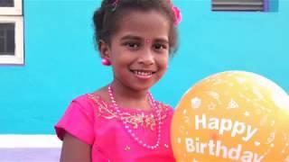 6th Happy Birthday Song | Baby Gunalini 15-01-2019 | Balloon Cake Party Video